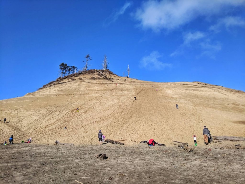 Cape Kiwanda Sand Dune, Oregon