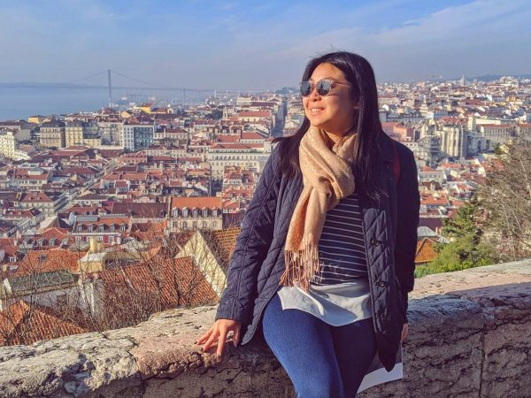 Lisbon city view from Castelo de Sao Jorge - how to find time to travel